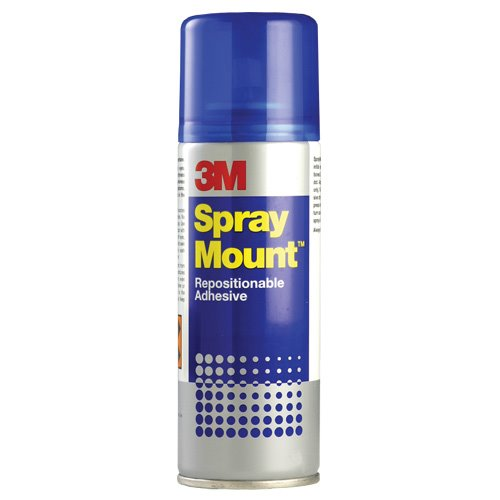 Spray Adhesive 3M Spray Mount Adhesive Spray CFC Free  400ml