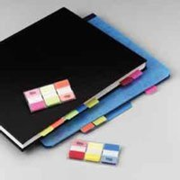 Indexes Post-it Index Flags 25mm Strong 66 Tabs 3 Colours 686-RYB