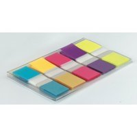 Indexes Post-it Index Flags 12mm 100 Tabs 5Assort Colours 683-5CB