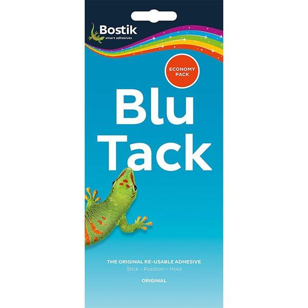 Tack Bostik Blu Tack Economy Pack 110g (Pack 12)