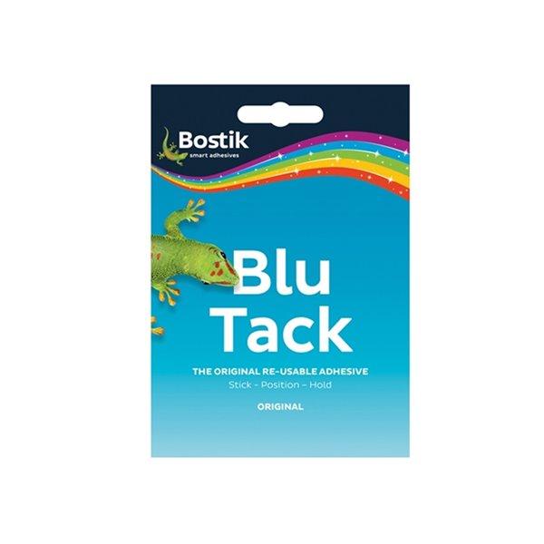 Tack Bostik Blu Tack Mastic Adhesive Handy Pack 60g PK12