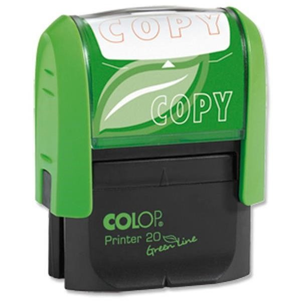 Stamps Colop Word Stamp Green Line Copy (Red)