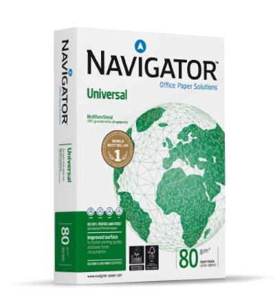A4 Navigator Universal Paper 80gsm A4 BX10 reams