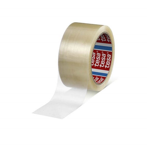 Packing Tape tesa 66m x 50mm PPPackaging Tape with Strong Adhesive Power Clear Pack 36
