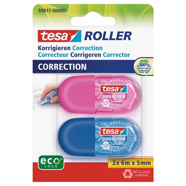 Correction Tape tesa Mini Correction 5mm x 6M 59817 PK2