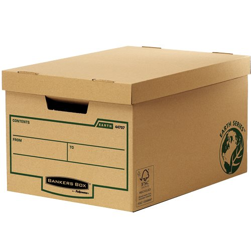 Storage Boxes Fellowes Earth Large Storage Box 4470701 - (PK10)