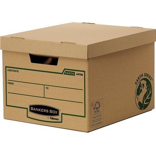 Storage Boxes Fellowes Earth Standard Storage Box 4470601 - (PK10)