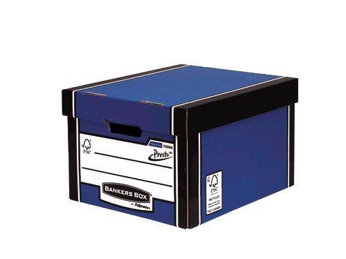 Storage Boxes Fellowes Premium Classic Box Blue PK10