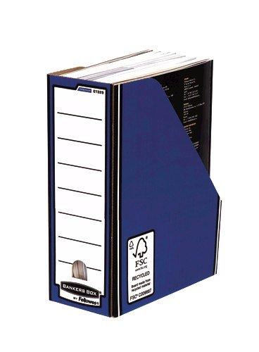 Storage Boxes Fellowes Premium Magazine File Blue PK10