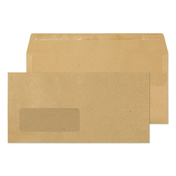 DL Everyday Manilla Window SS Wallet DL 110x220 80gsm PK1000