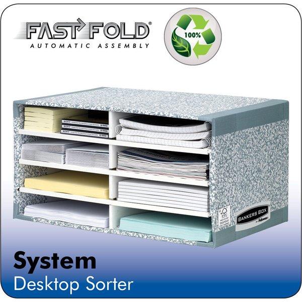 Storage Boxes Fellowes Bankers Box System Desktop Sorter PK5