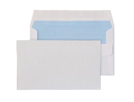 Shades of Blue Purely Everyday White Self Seal Wallet 80gsm PK1000