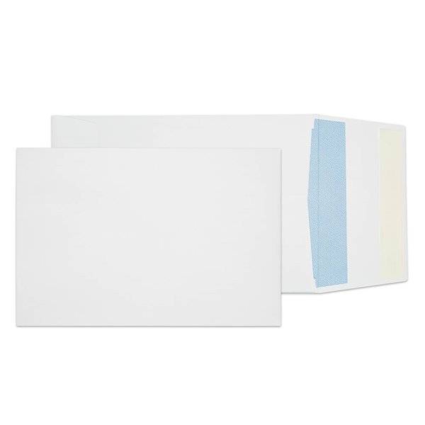 C6 Blake C5 120gsm Peel and Seal Gusset Envelopes White PK125
