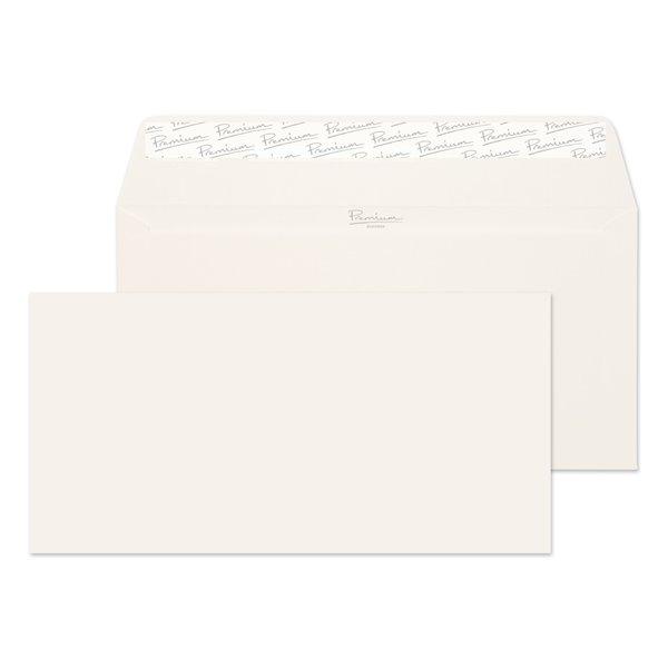 DL Premium Business DL 120gsm Wallet P&S High White Laid PK50