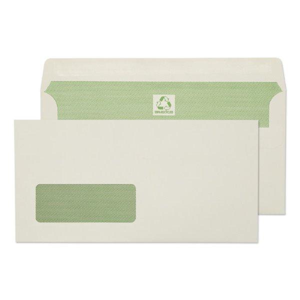 DL Purely Environmental DL 90gsm SS Wdw Wallet Ntrl White PK500