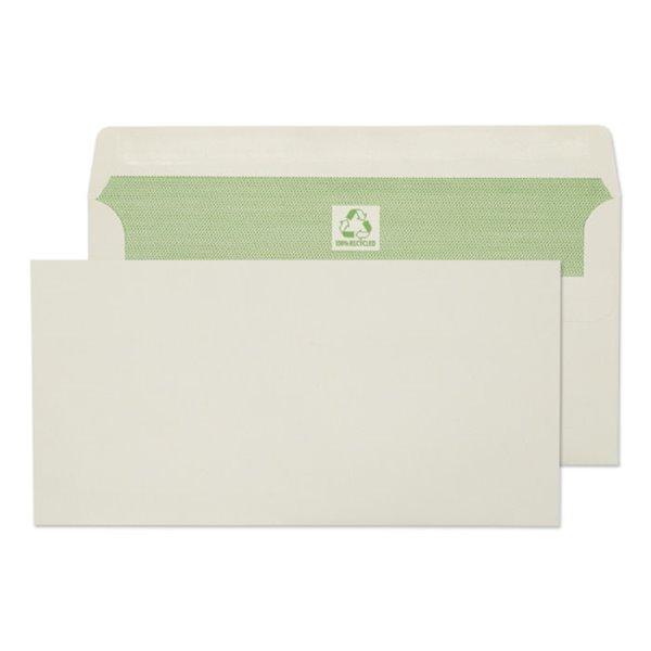 DL Purely Environmental DL 90gsm Self Seal Wallet White PK500