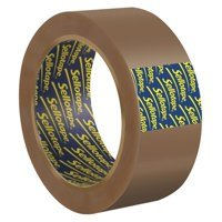 Sellotape Buff Vinyl Case Sealing 50mmx66m PK6