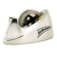 Sellotape Dispenser Large Chrome 575450