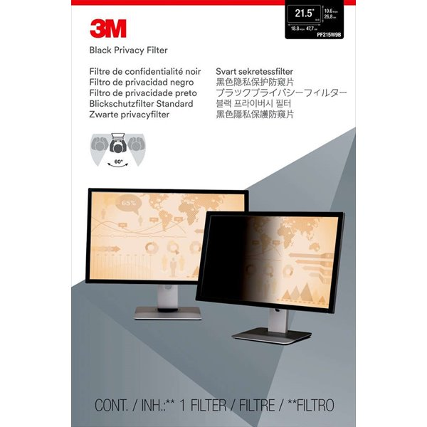 Desktop 3M PF21.5W Desktop Privacy Filter