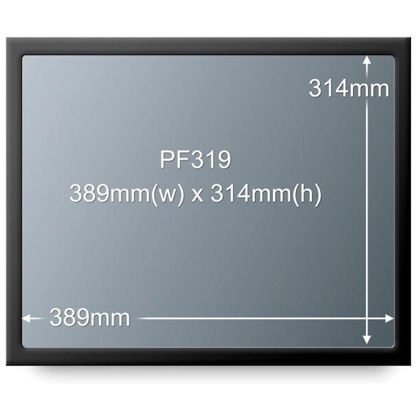 Desktop 3M PF319 Light LCD Privacy Filter 19in