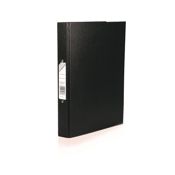 Centurion Ring Binder Paper-on-Board A4 Black PK10