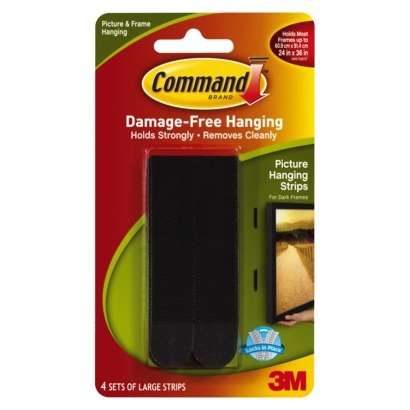 Certificate / Photo Frames 3M Command Large Picture Hanging Strips 17206 PK4