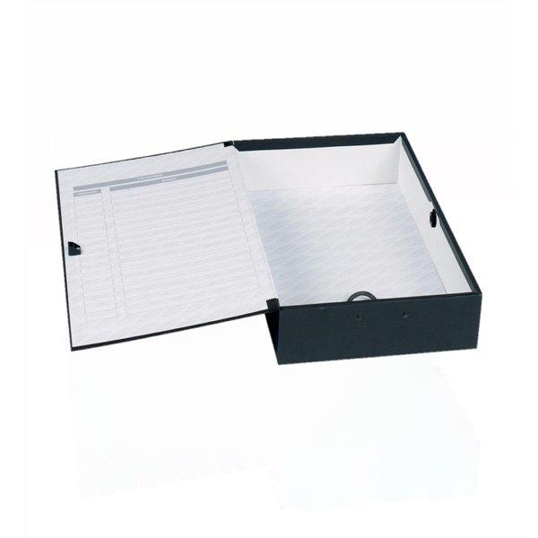 Box Files Concord Classic Box File Foolscap Black PK5