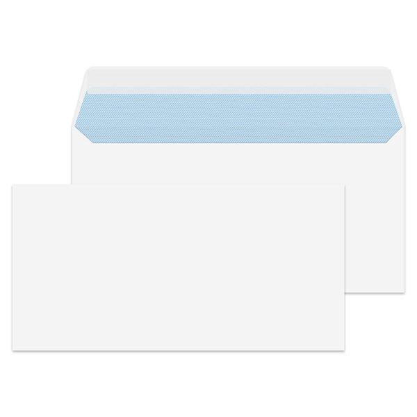Value Wallet P/S Plain DL 110x220mm 100gsm White PK500