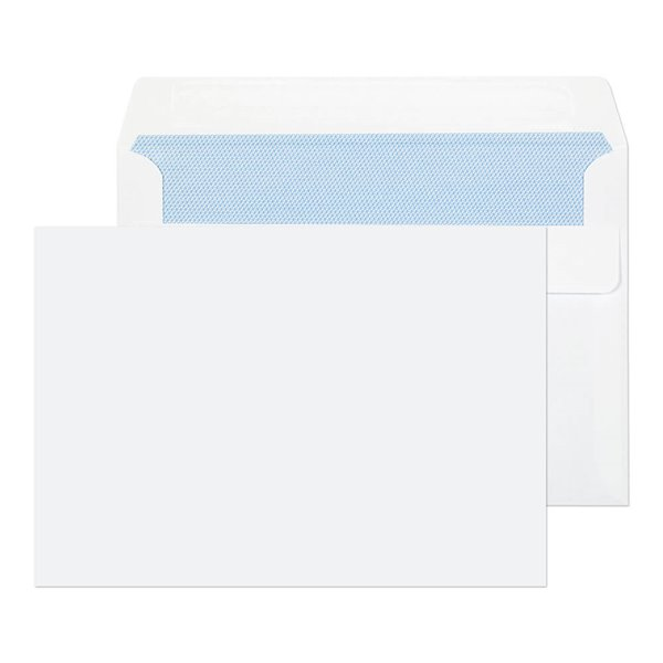 C6 Value Wallet Self Seal C6 114x162mm White PK1000