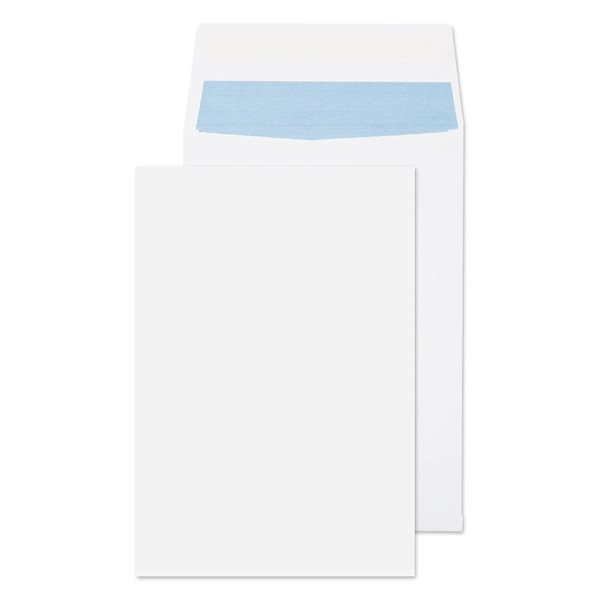 Gusset Envelopes Value Gusset Pocket P/S Plain C4 324x229x25mm White PK125