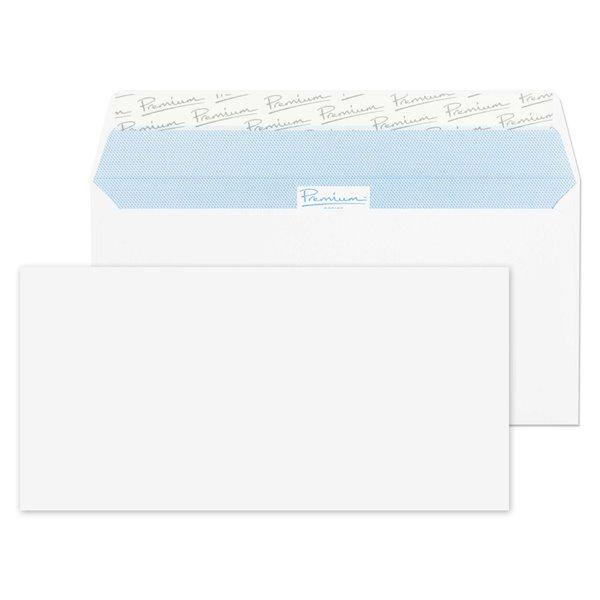 Premium Business Wallet P&S DL 110x220mm WhitePK500