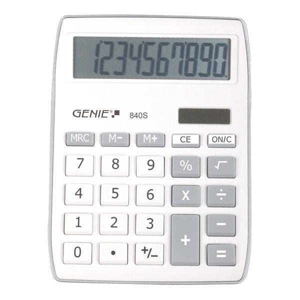 Genie 840S Silver Calculator