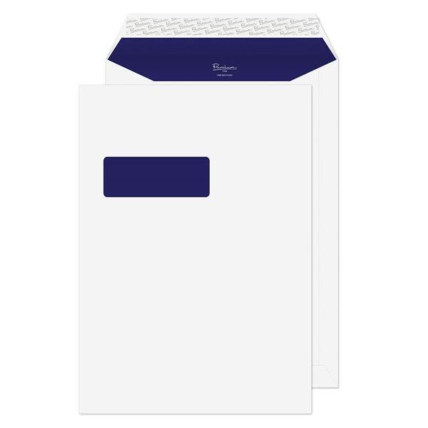 C4 Premium Pure Pocket P/S Win C4 324x229 Super White PK250