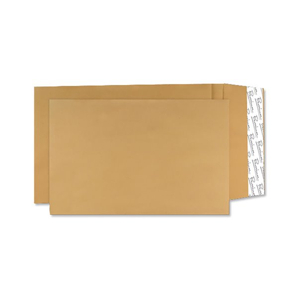 Gusset Envelopes Avant Garde Guss Pocket P/S C4 324x229mm Cream Man PK100