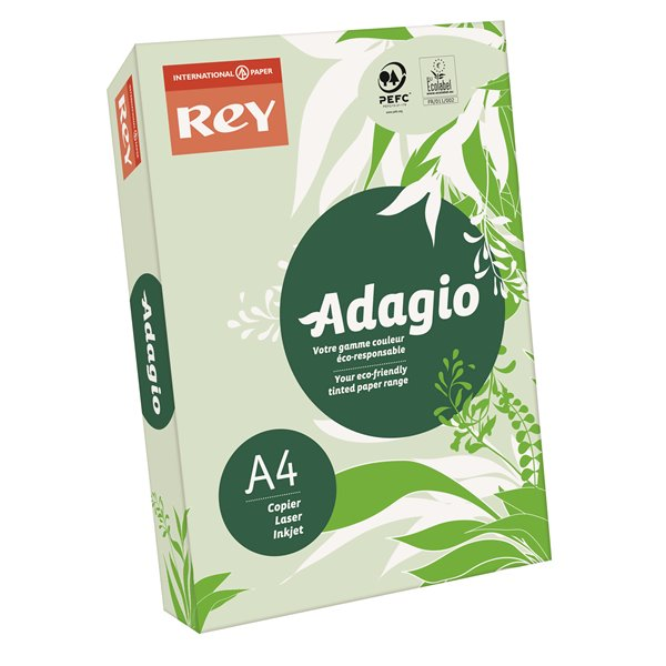Rey Adagio A4 Paper 80gsm Green RM500