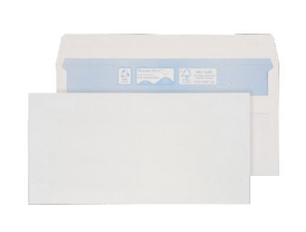 Nature First Wallet S/S DL 90gsm White RN17882 PK1000