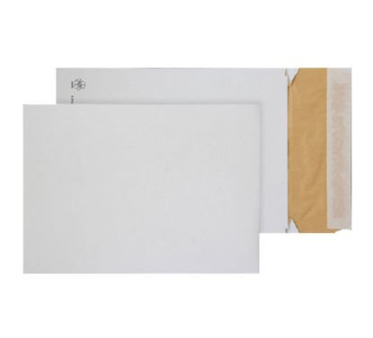 Padded Bags & Envelopes Purely Packaging Eco Peel and Seal Gusset Wh 140gsm C4 PK100