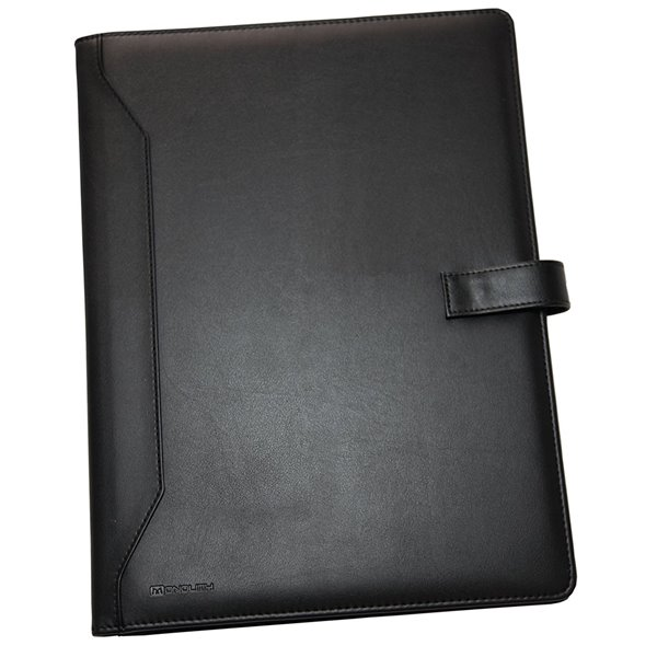 Conference Folders Monolith Leather Look A4 Conference Folder and Pad