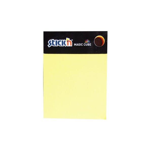 Value Stickn Magic Cube 101x76mm Neon Assorted 21255