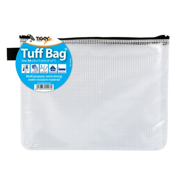 Tiger Tuff Bag A5