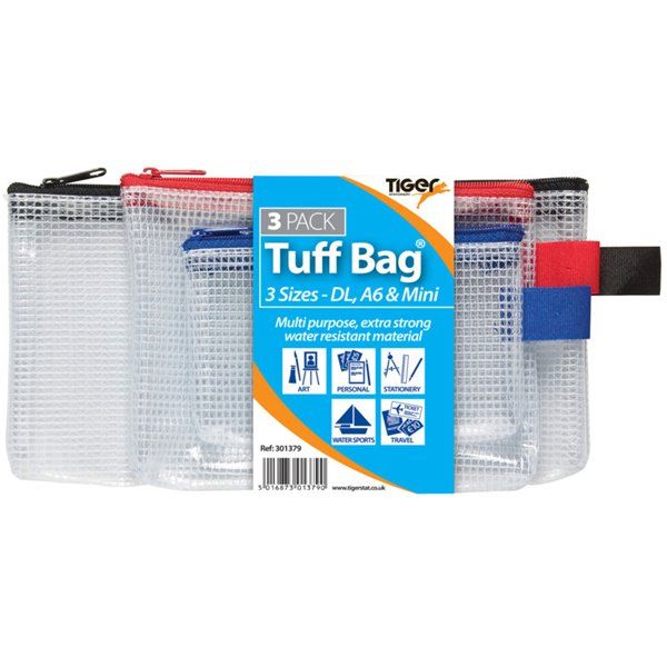 Tiger Tuff Bag Triple Pack