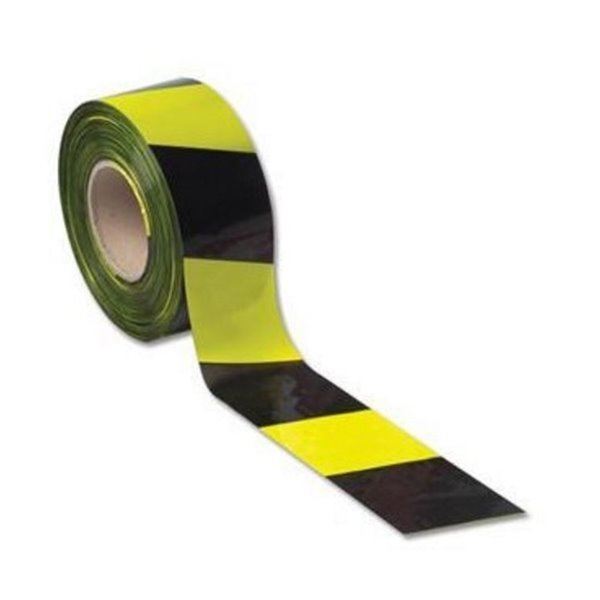 LSM Barrier Tape 75mm x 500m Yellow/Black