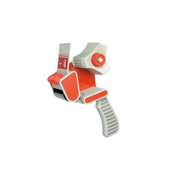 Pacplus Standard 50mm Pistol Grip Tape Dispenser Red