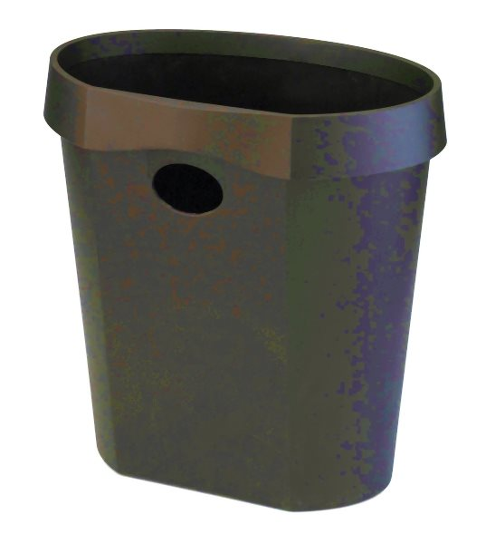 Rubbish Bins Avery Waste Bin 18 Litre Black