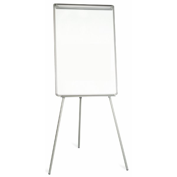 Bi-Office Easy Non Magnetic Tripod Easel Grey A1