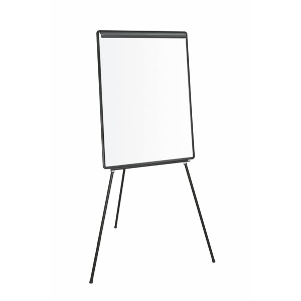 Bi-Office Economic Drywipe Tripod Easel Black A1
