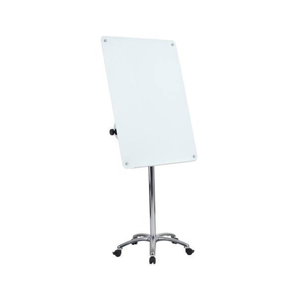 Bi-Office Glass Mobile Easel 70x100cm