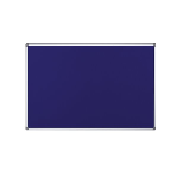 Bi-Office Maya Fire Retardant Noticebrd Blue 2400x1200mm