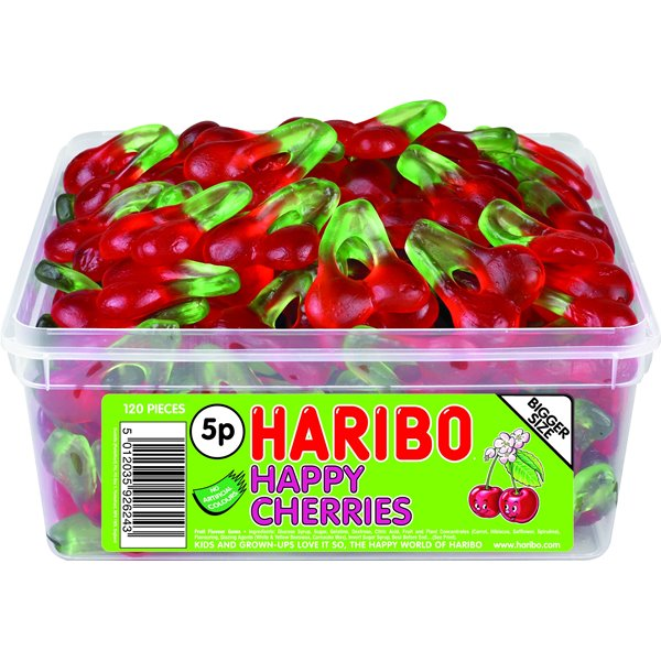 Haribo Happy Cherries Tub 120