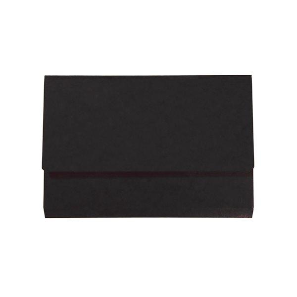 Iderama Foolscap Pocket Wallet - Black PK10